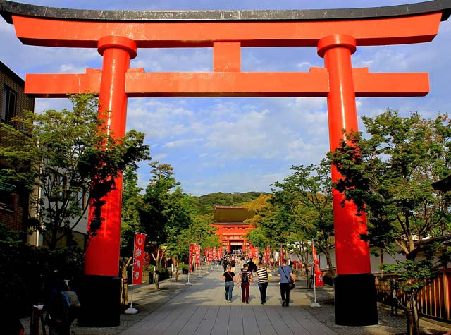 Fushimi Inari Taisha Shrine Entrance Kyoto